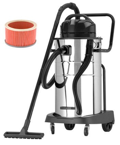 WL60 Wet Dry Vacuum Cleaner for Hotel Car Washer Restaurant Cyclone Vacuum for Industrial Use